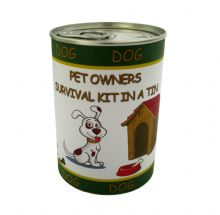 Dog Owners Survival Kit In A Tin